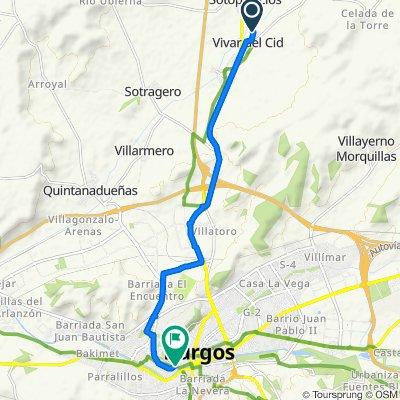 Etapa 1: Vivar del Cid - Burgos