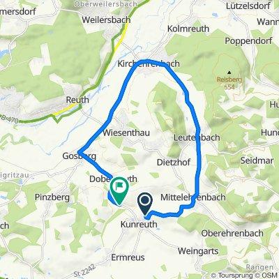 Hopfenleite 5, Kunreuth nach St2236, Pinzberg
