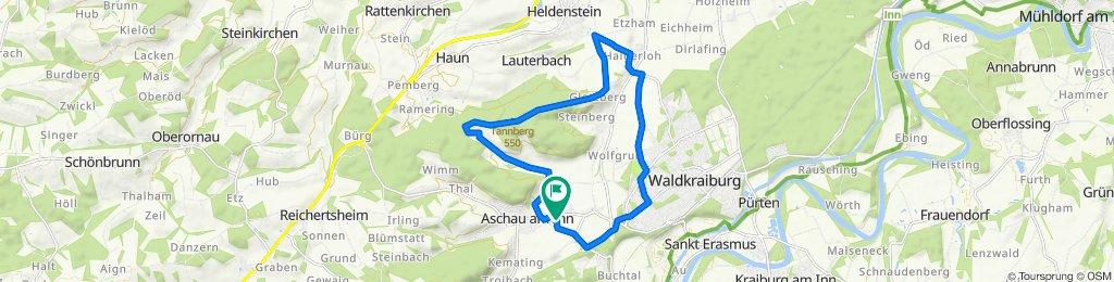 Wiesenfeld 4, Aschau am Inn nach Wiesenfeld 1, Aschau am Inn