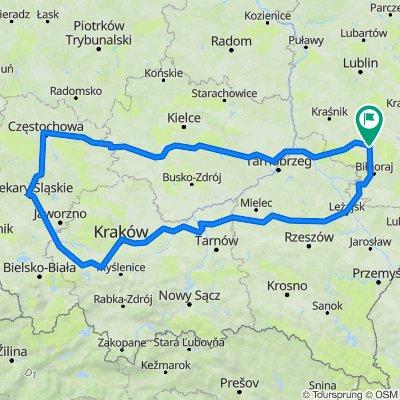 Goraj-Jasna Góra-Kraków-Goraj