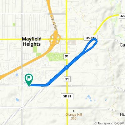 31025 Cedar Rd, Mayfield Heights to 31000 Cedar Rd, Pepper Pike
