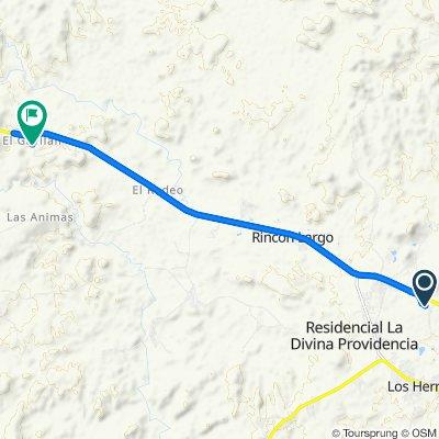 De Llano San Juan, La Peña a Carretera Panamericana 269, El Gavilan
