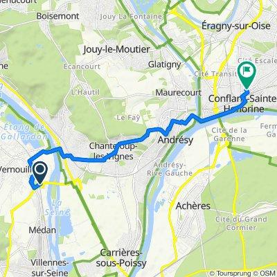 De Pont de Triel, Vernouillet à 2 Allée des Clos, Conflans-Sainte-Honorine