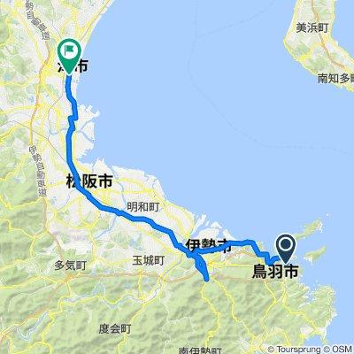 Day 8 - Toba to Tsu