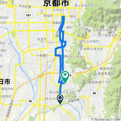 Day 10 - Kangetsukyo to Sanjo to Home
