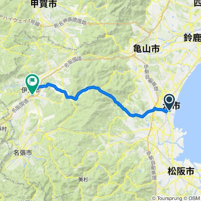 (Old - Route 163) Day 9 - Tsu to Iga