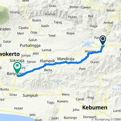 Jalan Munardjo 1 1, Madukara to Jalan Bhayangkara, Kecamatan Banyumas