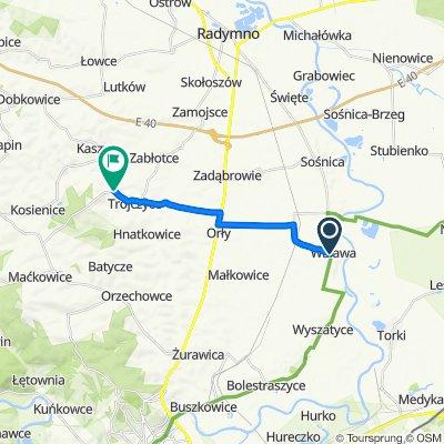 93A, Walawa do Wacławice