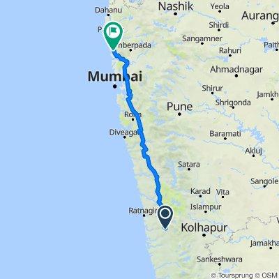 Route to Ramchandra Jivan Patil Marg, Viva Neelgiri Apartment, Vasai Virar