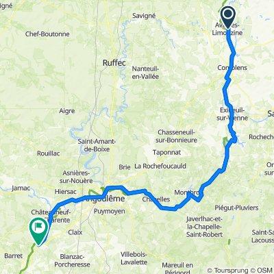 Itinéraire vers N10, Vignolles