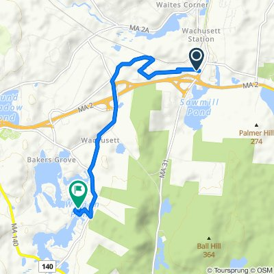 Princeton Road 487, Fitchburg to Old Oak Avenue 63, Westminster
