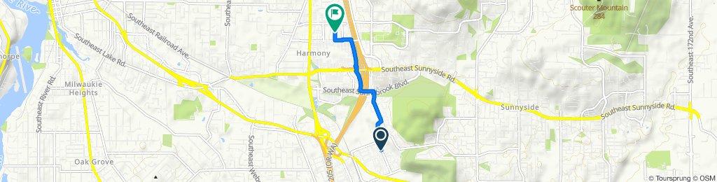 9801–9999 SE Empire Ct, Clackamas to 8800 SE Causey Loop, Happy Valley