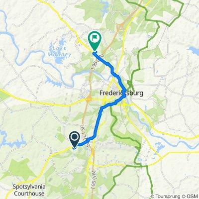 Rising Ridge Road 10505, Fredericksburg to McLane Drive 37, Fredericksburg
