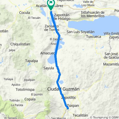 Tuxpan 4 Camino
