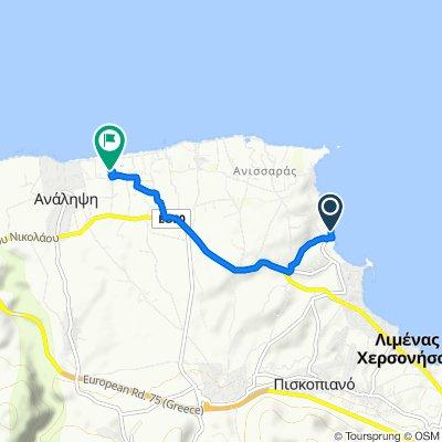 Ionias, Limenas Chersonisou nach Unnamed Road, Agkisaras