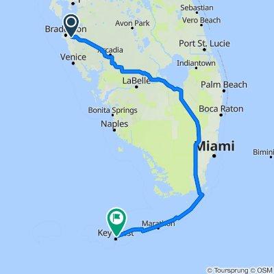Btown to Key West