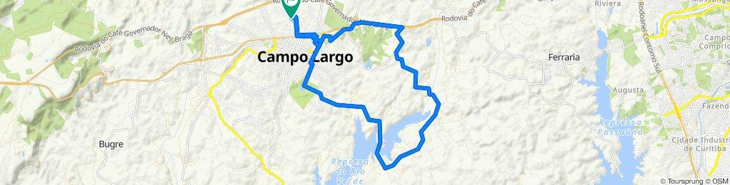 De Avenida Campo Largo, 45, Campo Largo a Avenida Campo Largo, 41, Campo Largo