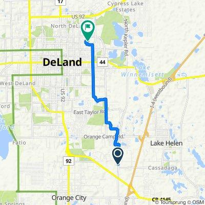 Dr Martin Luther King Jr Beltway, Deland to 920 Pine Tree Terr, DeLand
