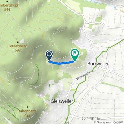 Sankt-Anna-Straße 175–201, Burrweiler nach Am Annaberg, Burrweiler