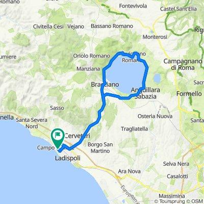 Around Bracciano (Marina di Cerveteri)