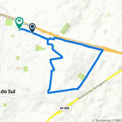 De Rua Sul, 991–1335, Santa Fé do Sul a Rua Serafim Rodrigues, 60–222, Santa Fé do Sul