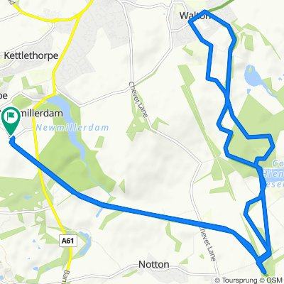 96–140 Wood Lane, Chapelthorpe, Wakefield to 97–141 Wood Lane, Newmillerdam, Wakefield
