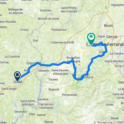 Ussel - le Puy de Dome