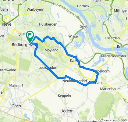 Bedburg-Hau-Kehrum-und zurück