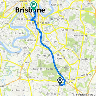 11 Cervantes Street, Macgregor to 101 Edward Street, Brisbane