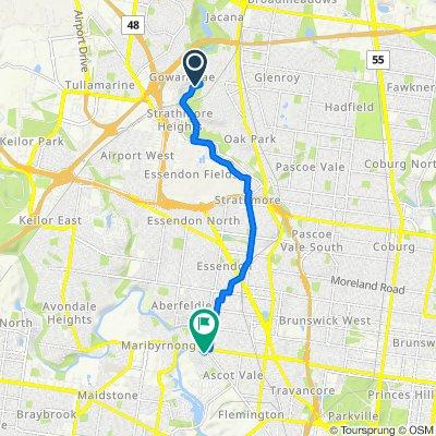 23–33 Adelaide Boulevard, Gowanbrae to 13 Walter Street, Ascot Vale