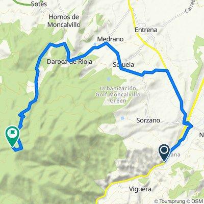 Vuelta2020: Alto de Moncalvillo