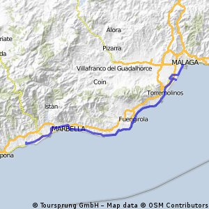 Spanientour 2010 - 7.ET = 1 Teil:  Cancelara - Malaga