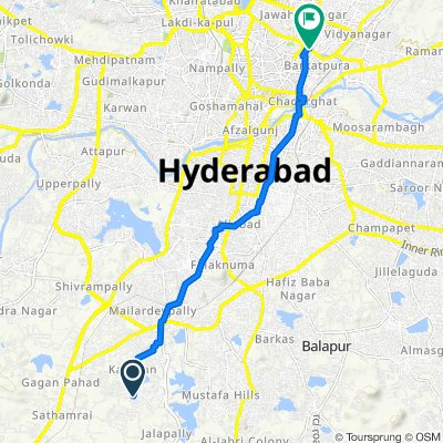 Unnamed Road, Hyderabad to Narayanguda, Hyderabad