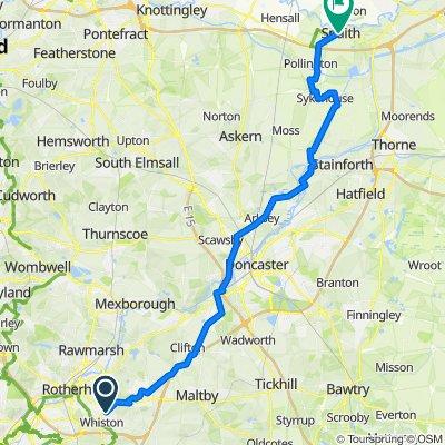 26 Lathe Road, Rotherham to 9 Church Lane, Goole