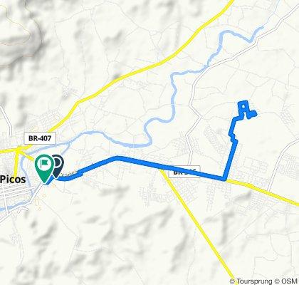 Rota desde Avenida Cento e Quarenta e Sete, 156–206, Picos