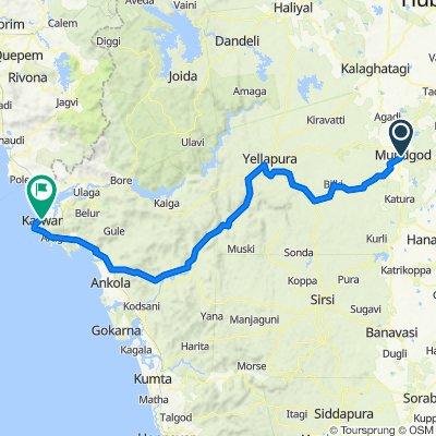 Segment 3 BLR to Goa