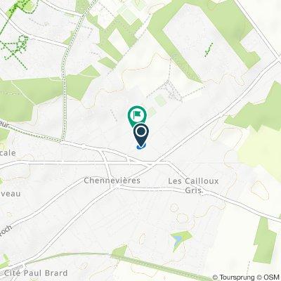 De 16 Rue de la Justice, Conflans-Sainte-Honorine à 19 Avenue Christiane, Conflans-Sainte-Honorine