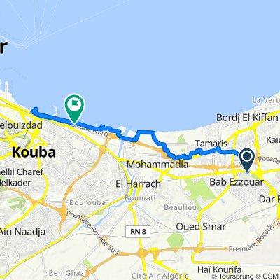 Soumam Bus Stop, Bab Ezzouar to N11, Hussein Dey