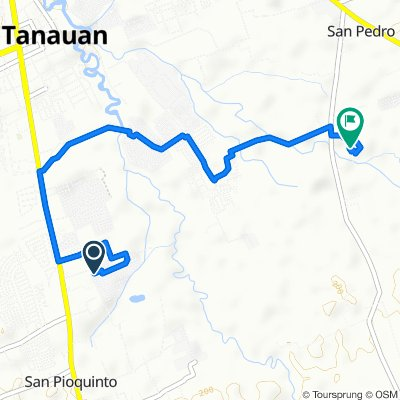 Unnamed Road, Tanauan to Santo Tomas - Lipa Road