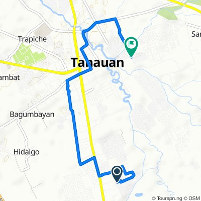 Unnamed Road, Tanauan to Unnamed Road, Santo Tomas