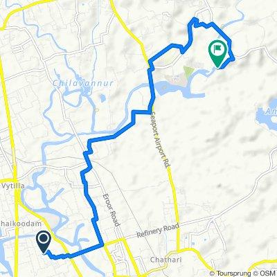 MMC/6/322, Kochi to Unnamed Road, Kakkanad