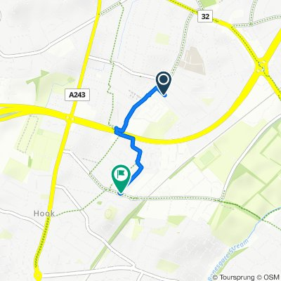 5 Selbourne Ave, Surbiton do 34–56 Fircroft Road, Chessington