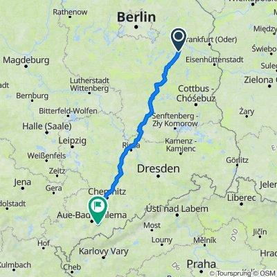 Am Theresienhof 8, Bad Saarow nach Robert-Koch-Straße 19, Schwarzenberg/Erzgebirge