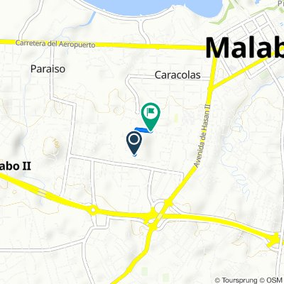 Unnamed Road, Malabo to Unnamed Road, Malabo