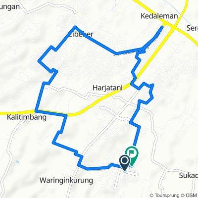 Blok C 2 14, Waringinkurung to Jalan Mangga 18, Waringinkurung