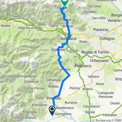 Da Stradale Cappella Merli 57, Bricherasio a Frazione Niquidetto Località Col del Lys, Viù