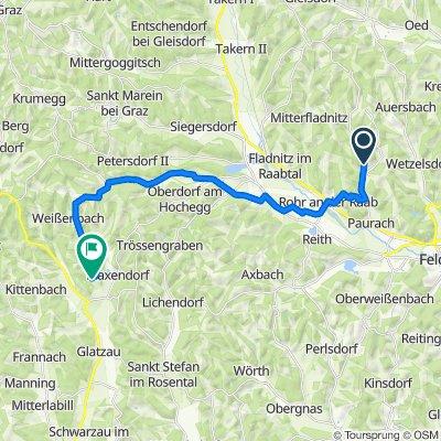 Edelsbach 132, Edelsbach bei Feldbach nach Dörfla 45