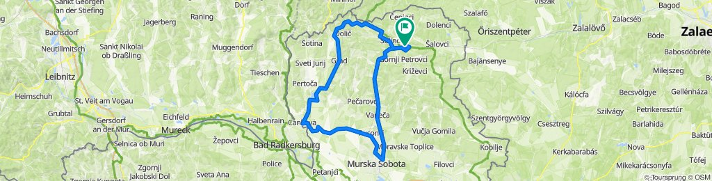 Gornji Petrovci Cycling
