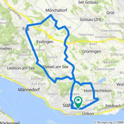 Uerikon-Egg-Mönchaltdorf zurück