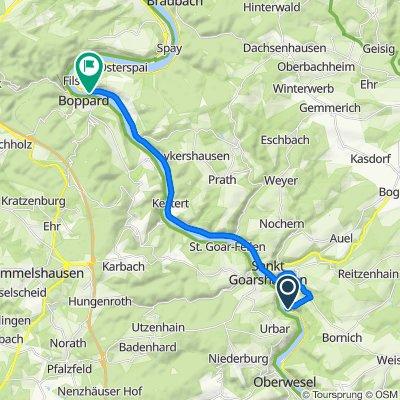 Loreley 9, Bornich nach Deutsche Alleenstraße, Kamp-Bornhofen